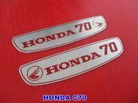 HONDA DAX 70 ST70 EMBLEM FRAME ALUMINIUM 2Pcs. mi3292