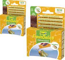 Tetra freshdelica Daphnia 2 x 48 Size Water Fleas in Jelly, 32 Sachets A 3 Size