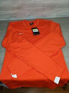 NIKE CI4544 891THERMAL MENS SZ S LONG SLEEVE SHIRT Orange $70+