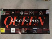 Vtg Queen Greatest Hits Music Poster News of the World Freddy Mercury Electra