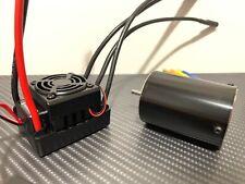 Hobbywing WP-10BL50 3900KV Brushless ESC Motor Combo Fits Traxxas 1/10 Slash 2WD