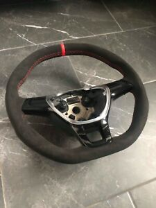 Vw flat bottom steering wheel gti gtd caddy Jetta t5 transporter custom rline