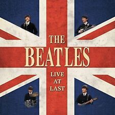 The Beatles Live at Last 2015 Red Vinyl LP New/unplayed