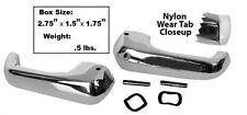 1968 Mustang & 68-77 Bronco Vent Window Handles w/Nylon wear tab New Dii