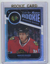11-12 OPC Retro Rainbow Marcus Kruger Marquee Rookie Card RC #592 Mint