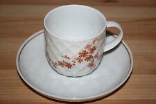 Der Porzellanshop: Neuware Thomas Holiday braun Tasse / Kaffeetasse mit Unterer