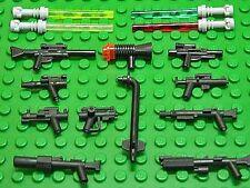 LEGO - 15 Original und Custom Star Wars Waffen / Waffenset / Blaster NEUWARE