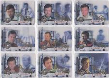 STAR TREK CINEMA 2000 DR MCCOY TRIBUTE COMPLETE INSERT SET M1-M9 (9)