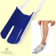 Strumpf-Anziehhilfe Socken-Anzieher Strumpfanzieher mit Frottee
