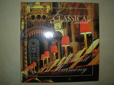 CHORAL HARMONY - IN CLASSICAL MOOD CD & BOOK VGC BEETHOVEN - MOZART - HANDEL