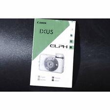 Canon Ixus Elph Bedienungsanleitung / Gebrauchsanweisung / Anleitung / DEUTSCH
