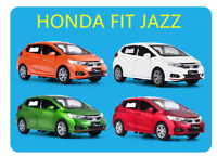 1:28 Honda Jazz Fit Model Alloy Vehicle Diecast Kid Pull Back Car Collection Toy