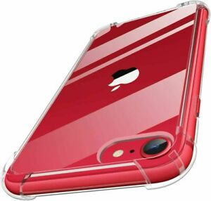 For iPhone SE-2020 11 12 Pro XR Bumper Shockproof Silicone Protective Cover Case