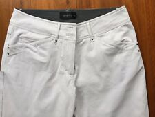Ping Pong ladies stone cotton smart casual pants size 10