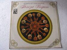 Songs of Kazi Nazrul Feroza Begum EASD 1394 HMV Bengali LP Record India NM-1439