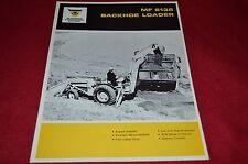 Massey Ferguson 2135 Backhoe Loader Dealers Brochure YABE6