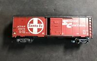 HO Santa Fe Box Car By Tyco 100% Tested Lot H164