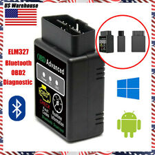 ELM327 OBD2 Scanner Bluetooth Code Reader Car Diagnostic Tool For Android iOS