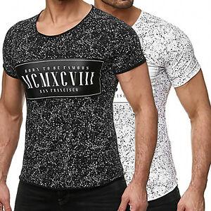 Redbridge Herren T-Shirt Shirt Born to be Famous Schwarz oder Weiß Gr. S - XXL