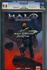 VHTF 2007 CGC 9.8 Halo Uprising #1 Marvel Comics