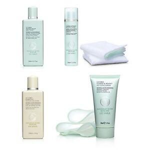 LIZ EARLE Skincare Range Cleanse & Polish Tonic Cream Eye Lotion Muslin Cloths