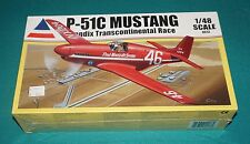 P-51C Mustang Bendix Transcontinental Race Accurate Miniatures 1/48 Sealed.
