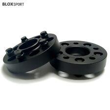 1 Inch 25mm Black Wheel Spacers for Mercedes Benz W211 W212 W220 W221 R129 2Pcs