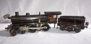 Märklin R13040 elektrische Lokomotive Spur 0 mit 3-achsigem Tender