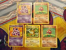 XY PRIMAL CLASH THEME DECK EXCLUSIVE NON-HOLO LOT Pokemon