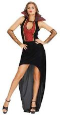 Womens Halloween Vampire Countess Costume - UK 12-14 Excellent Condition