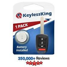 Pack of 2 Keyless Entry Remote Start Smart Car Key Fob for Honda Pilot CR-V 2016-19 KR5V2X