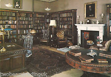 Postcard: Sheffield Park, East Sussex - The Library (1970s)