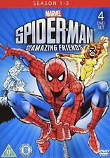 SPIDERMAN AND HIS AMAZING FRIENDS (1981) COMPLETE SERIES SEASON 1 2 3 NEW 4 DVD