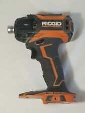 RIDGID R86036 18V Cordless Lithium Ion Impact Driver Stealth 3 Speed WORKS GREAT