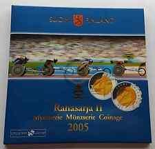2005 Finlandia Euros Set Coin 8,88 Euro Pack Monedas Estuche Coins Finland
