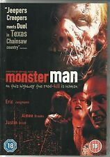 Monster Man (DVD, 2006) staring Eric Jungmann Michael Bailey Smith Justin Urich