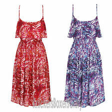 Viscose Sundresses Sleeveless Dresses Midi