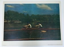 """25""""x19"""" Art Poster. The Biglin Brothers Racing, 1872 by Thomas Eakins"""