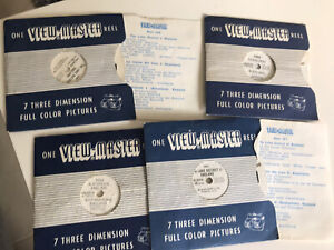 4 View Master Reels