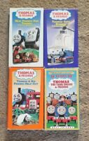 Thomas & Friends - Lot of 4 VHS Tapes 10 Years, Help Out, New Friends, Gets Bump