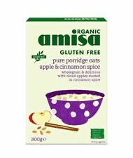 Amisa  Pure Porridge Oats - Apple & Cinnamon Spice - 300g - 71073