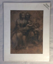 "Leonardo Da Vinci ""The Virgin and Child"" National Gallery Mini Print 11x14"