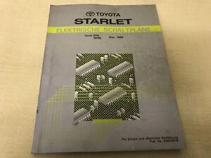 TOYOTA Starlet Elektrische Schaltpläne EP8/NP80 Series Dez.1989  EWD081M