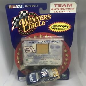 Mike Skinner Lowes NASCAR Winners Circle Team Authentics Rare Uniform Gold