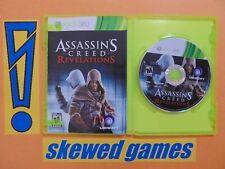 Assassins Creed Revelations - cib - Mint - XBox 360 Microsoft