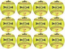"Rawlings Dream Seam Asa/Nfhs 11"" Fastpitch Softballs One Dozen C11Rysa"