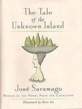 "JOSE SARAMAGO ""The Tale of the Unknown Island"" SIGNED First Printing NOBEL PRIZE"
