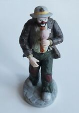 Flambro Emmett Kelly, Jr. Clown with Cotton Candy figurine