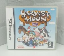 HARVEST MOON NINTENDO DS GAME COMPLETE CASE MANUAL