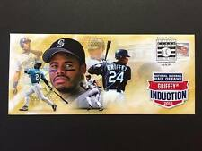 KEN GRIFFEY JR. SEATTLE MARINERS USPS HALL OF FAME INDUCTION DAY EVENT COVER